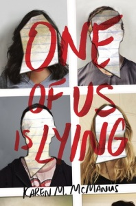 one of us is lying -karen m mcmanus