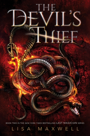 the devil's thief -lisa maxwell