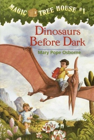 dinosaurs before dark -mary pope osborne
