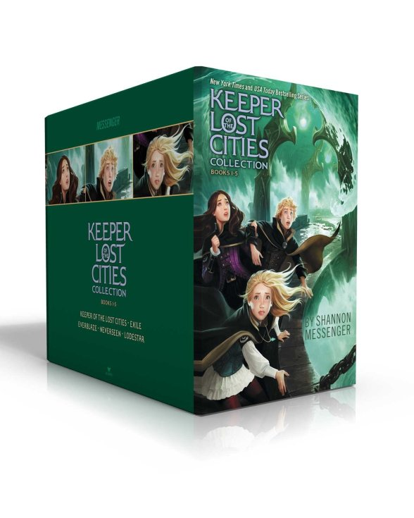 keeper of the lost cities box set
