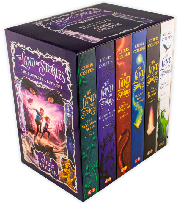 land of stories box set